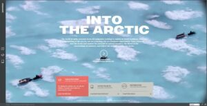 into-the-arctic-navigation-menu-design