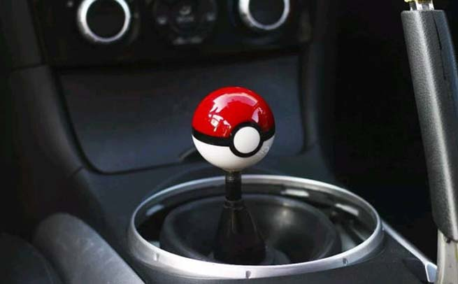 Pokemon Go Ball Shift Knob