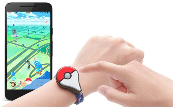 Pokemon Go Plus gadget