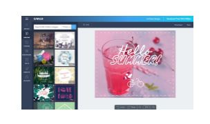 Crello - Visual Editor