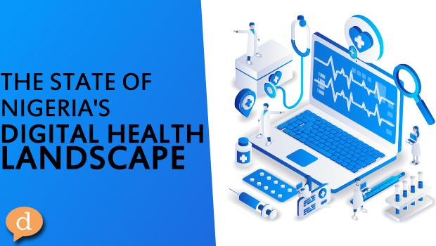 The State of Nigeria's Digital Health Landscape – black letters